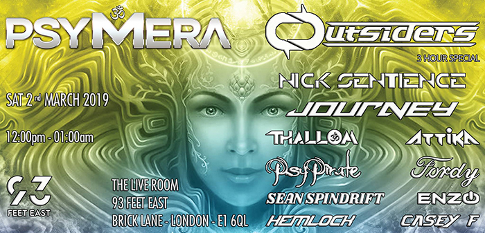 cover PSYMERA Presents Outsiders